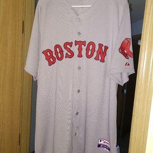2014 Dustin Pedroia Boston Red Sox jersey
